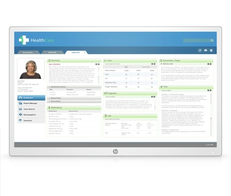 Image of HP HC271 Healthcare Monitor (Head only)