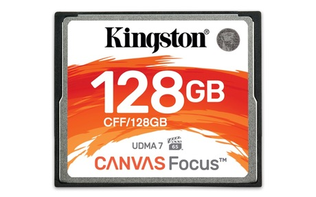 Image of Kingston Canvas Focus 128 GB CF Karte