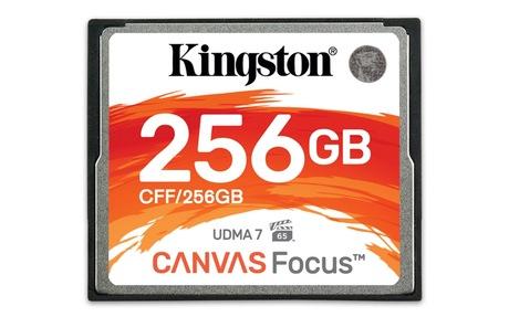 Image of Kingston Canvas Focus 256 GB CF Karte