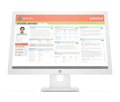 Image of HP HC241 Healthcare Edition Monitor