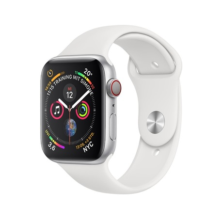 Image of Apple Watch S4 GPS 40mm silber