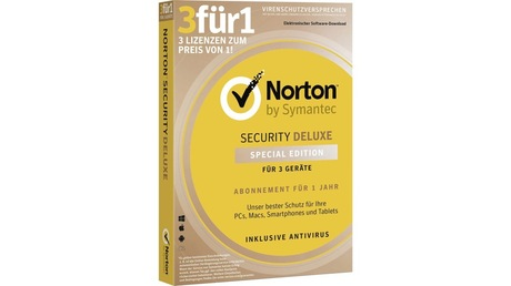 Image of Norton Security Deluxe 3.0 1U 1Dev 1Y SZ