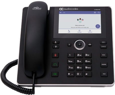 Image of AudioCodes C450HD Teams IP-Telefon BW