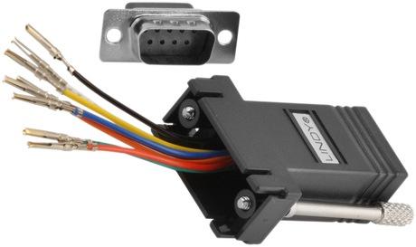 Image of Modular-Adapter DB9 Bu - RJ45 Bu