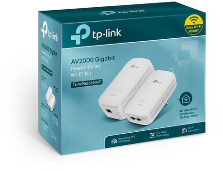 Image of TP-LINK TL-WPA9610 KIT Powerline