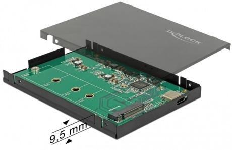Image of Delock M.2 SSD USB 3.1 Gehäuse