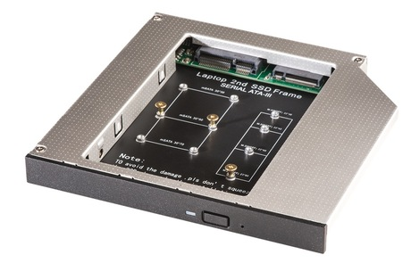 LINDY mSATA M 2 SSD Caddy