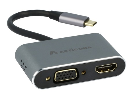 Image of Adapter USB 3.0 Typ C St - HDMI/VGA/USB