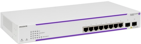 Image of Alcatel-Lucent OS2220-P8 PoE Switch