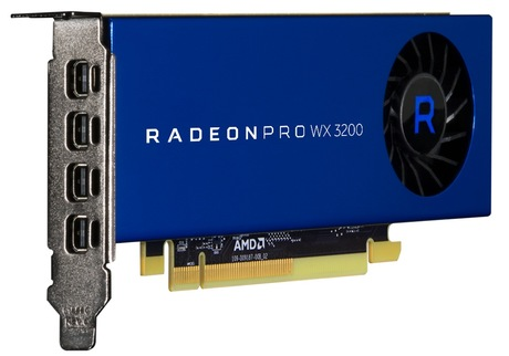 Image of AMD Radeon Pro WX 3200 Grafikkarte