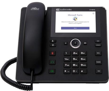 Image of AudioCodes C448HD Teams IP-Telefon