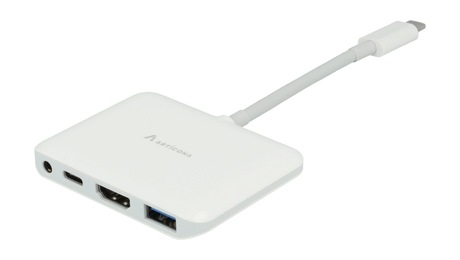 Image of Adapter USB 3.0 Typ C St -HDMI/USB/Audio